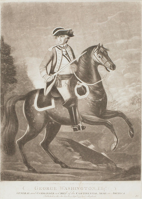 Early George Washington Engraving