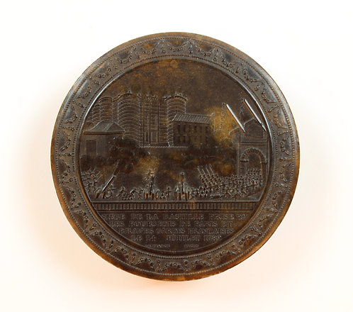 Siege of the Bastille Snuff Box