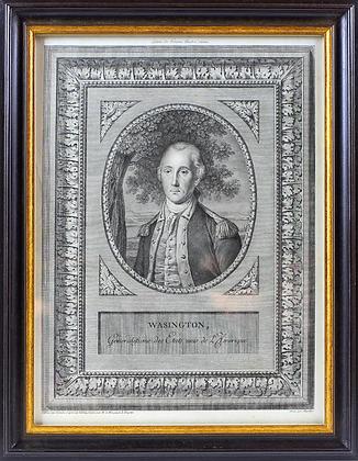 1780s George Washington Engraving