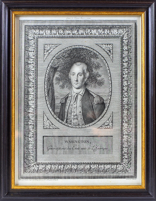 1780s George Washington Engraving