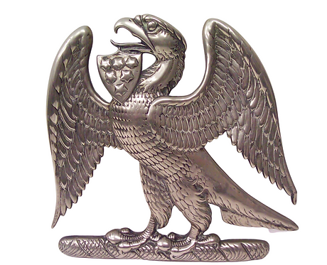 Chinese Export Paktong Eagle