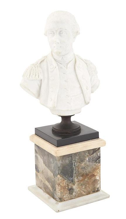 Sevres Bisque Porcelain Bust of General George Washington