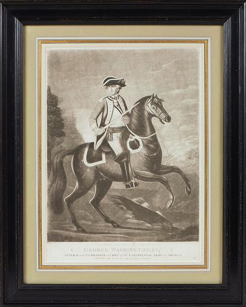 1775 George Washington Engraving