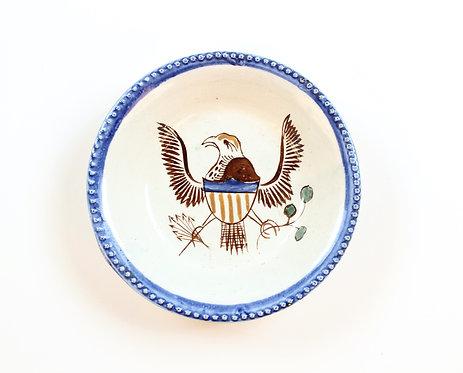 Patriotic Pearlware Dish