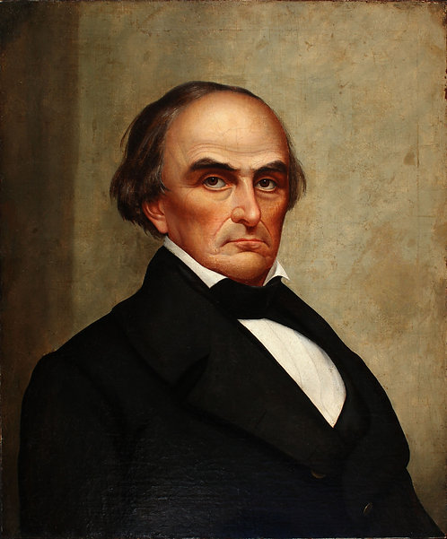 Portrait of US Senator Daniel Webster