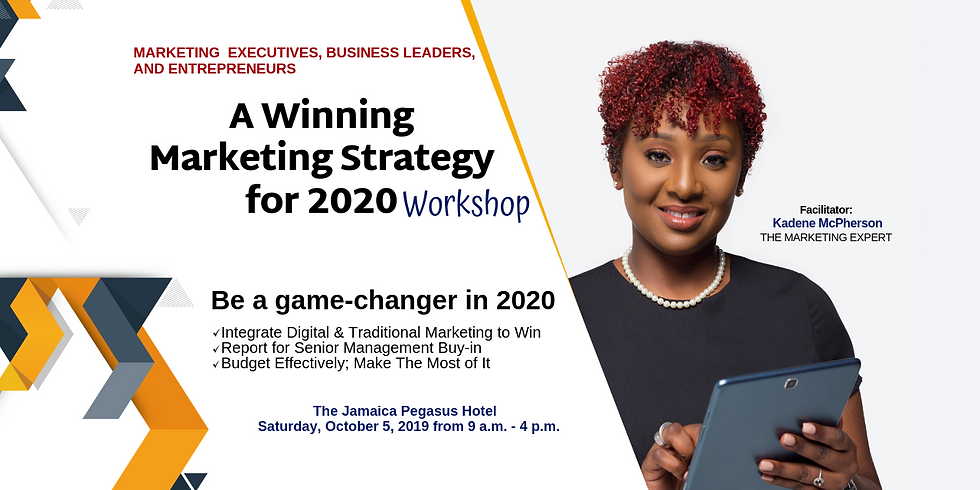 A Winning Marketing Strategy for 2020 Workshop
