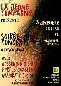Soirée Concert - Jeune Cie
