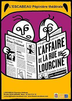 l'Affaire de la rue de Lourcine - Théâtre de l'Escabeau