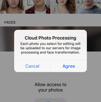 """Securing Privacy Online: The """"FaceApp Challenge"""""""