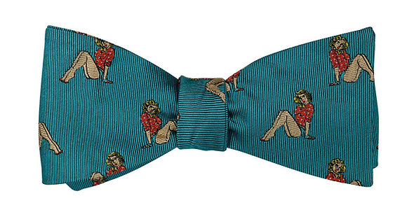 Pin Up Girl Bow Tie