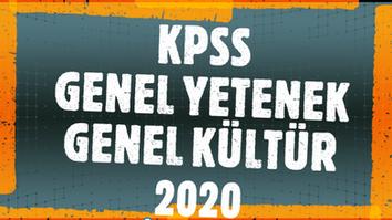 KPSS GY+GK 2020