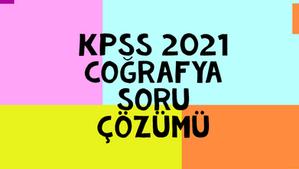 KPSS 2021 Soru Çözümü