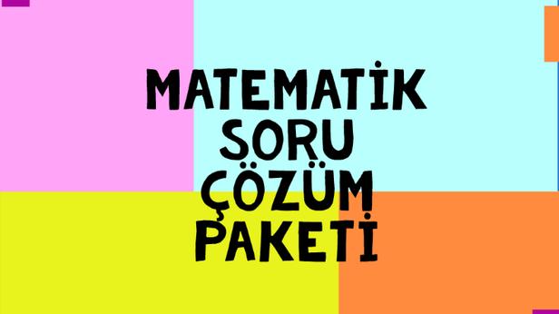 Matematik Soru Çözümü Paketi