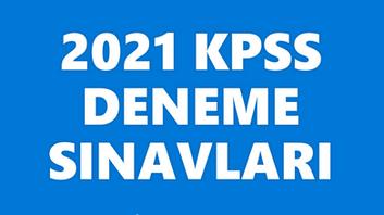 KPSS 2021 Deneme Sınavları