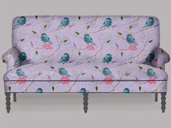 Texture Mapped Couch