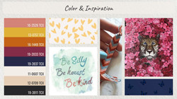 Collection 2- Color and Inspiration
