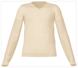 Bumble Bee Sweater Knit Simulation