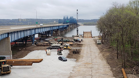 Looking East at temporary Causeway.jpg