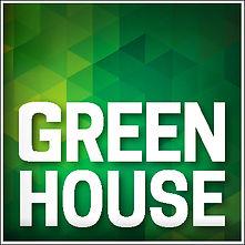 logo greenhouse uruguay, logo verde