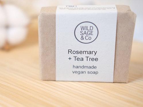 Wild Sage & Co - Rosemary + Tea Tree Soap bar