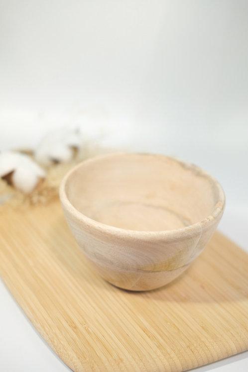 Sustainable Mango Wood Nibble Bowl