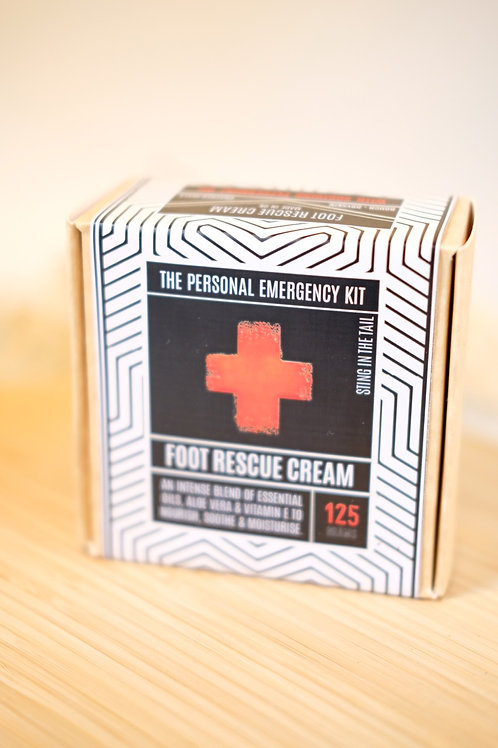 Foot Rescue Cream- Personal Emergency Kit
