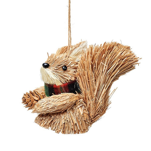Woodland Squirrel Christmas Decoration
