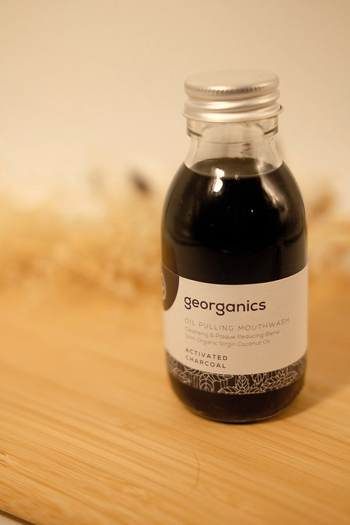 Activated Charcoal Mouthwash - Oil Pulling