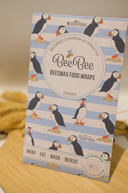Beeswax Food Wraps - Set of three sizes