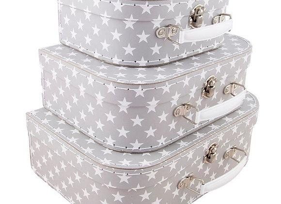 Nordic Star Set of Three Suitcases