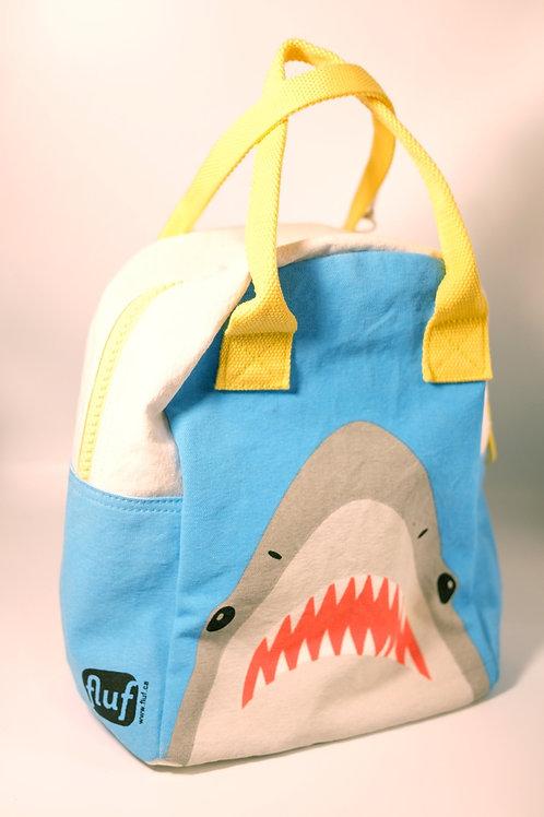 Shark Zipper Organic Lunch bag