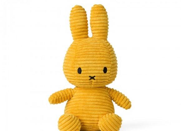 Yellow Corduroy Miffy 24cm