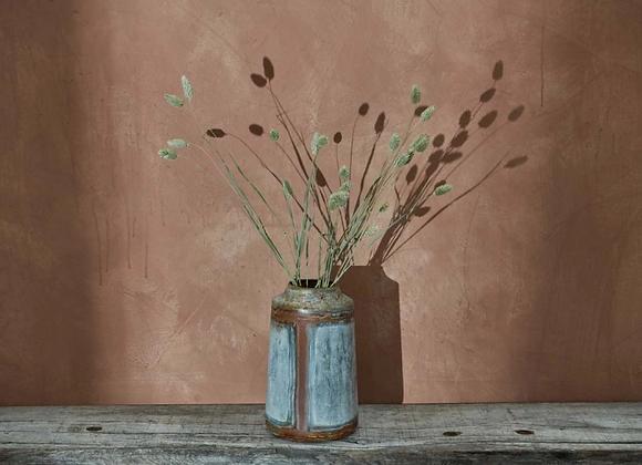 Aged Zinc Vase - Large