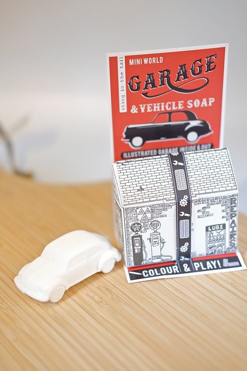 Garage Colour & Play box and Vehicle soap