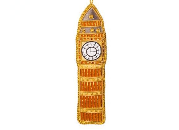 Big Ben embroidered decoration