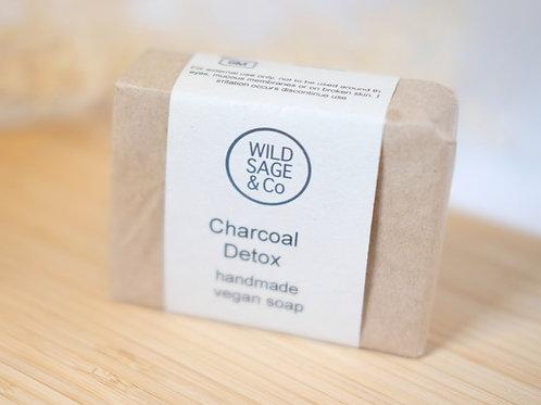Wild Sage & Co. Chacoal Detox Green Clay Soap bar