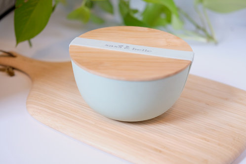 Bamboo Bowl Lunch Box - Mint Green