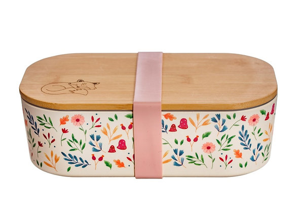 Forest Bamboo Lunch Box