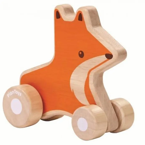 Fox Wheelie - Plan Toys