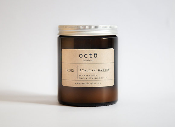 Octo Candles - Italian Gardens