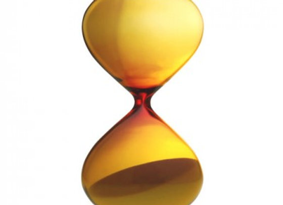 Yellow  hourglass  - 5 minute timer