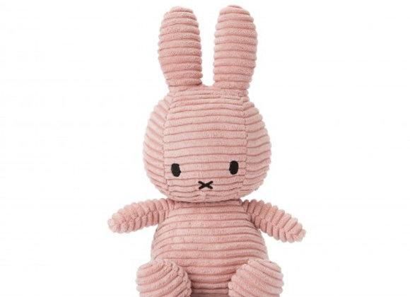 Pink Corduroy Miffy 24cm