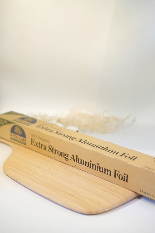100% Recycled Extra Strong Aluminium Foil -If you Care