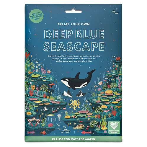 Create your own Deep Blue Seascape