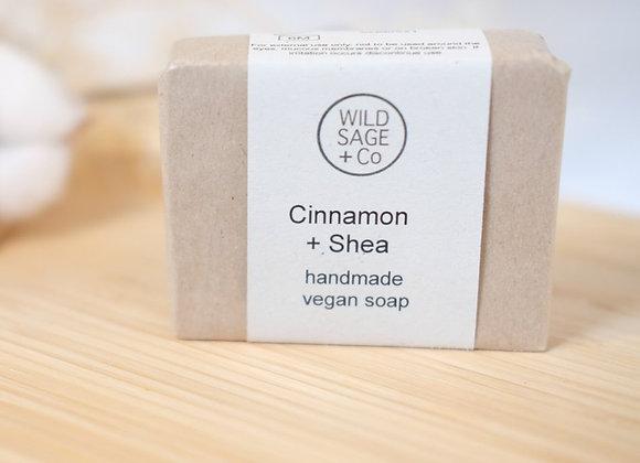 Cinnamon + Shea Soap Bar