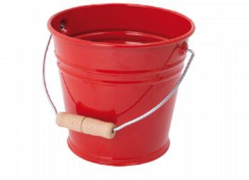 Children's Red Sand Bucket