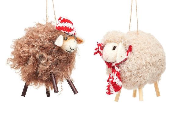 Sheep hanging decoration