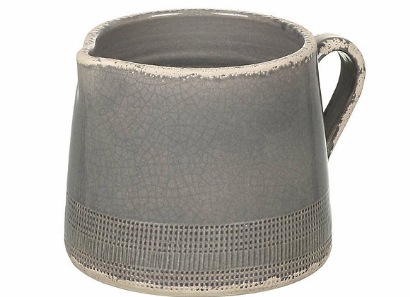 Ceramic Pitcher Dark Grey