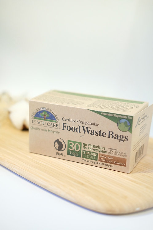 Food waste bags - 30 x 11.4 L - If You Care