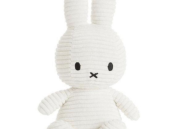 White Corduroy Miffy 24cm